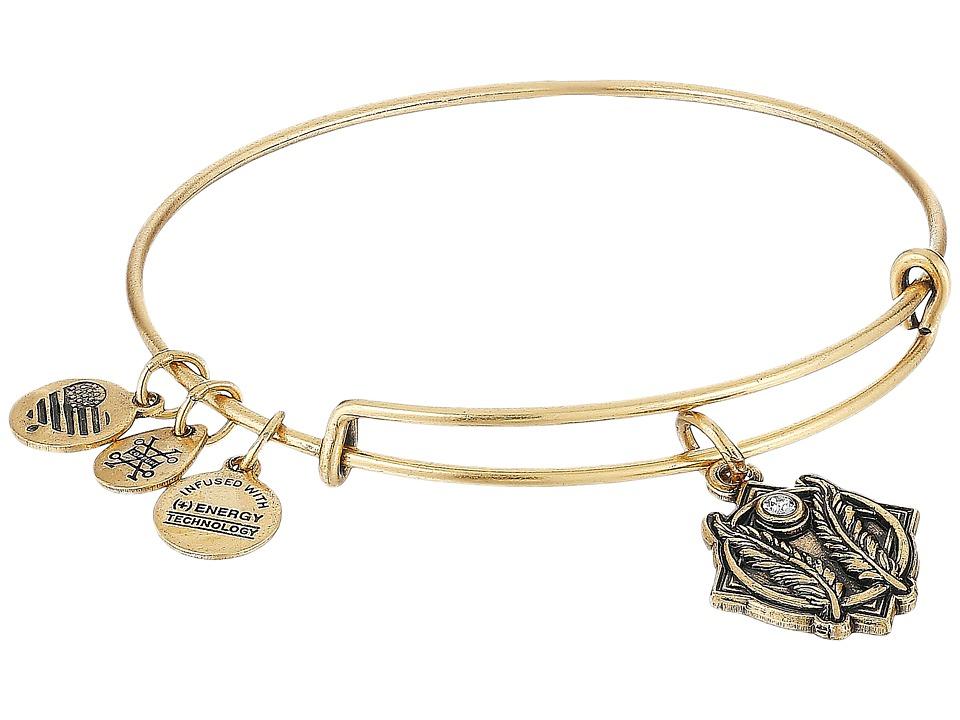 Alex and Ani - Godspeed II Bangle (Rafaelian Gold) Bracelet