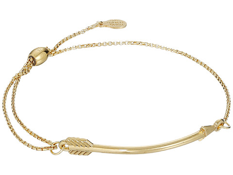 Alex and Ani Arrow Pull Chain Bracelet - 14Kt Gold Plated
