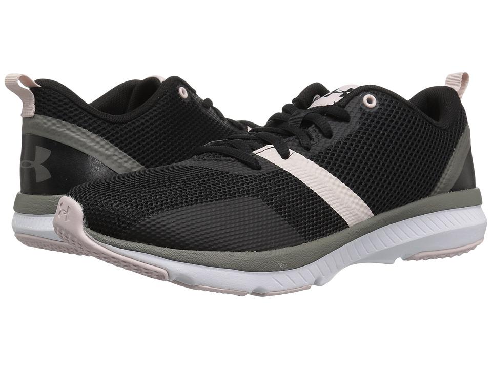 Under Armour - UA Press 2 (Black/French Gray/Black) Womens Cross Training Shoes