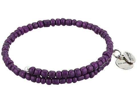 Alex and Ani Primal Spirit Wrap Bracelet - Aubergine/Rafaelian Silver