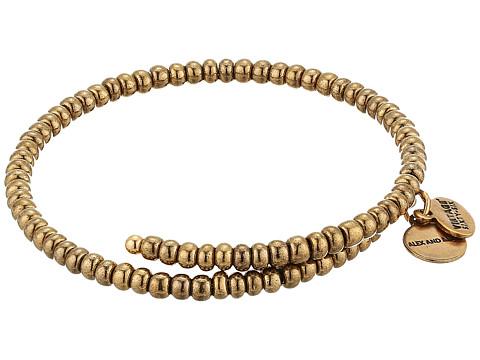 Alex and Ani Primal Spirit Wrap Bracelet - Woodland/Rafaelian Gold