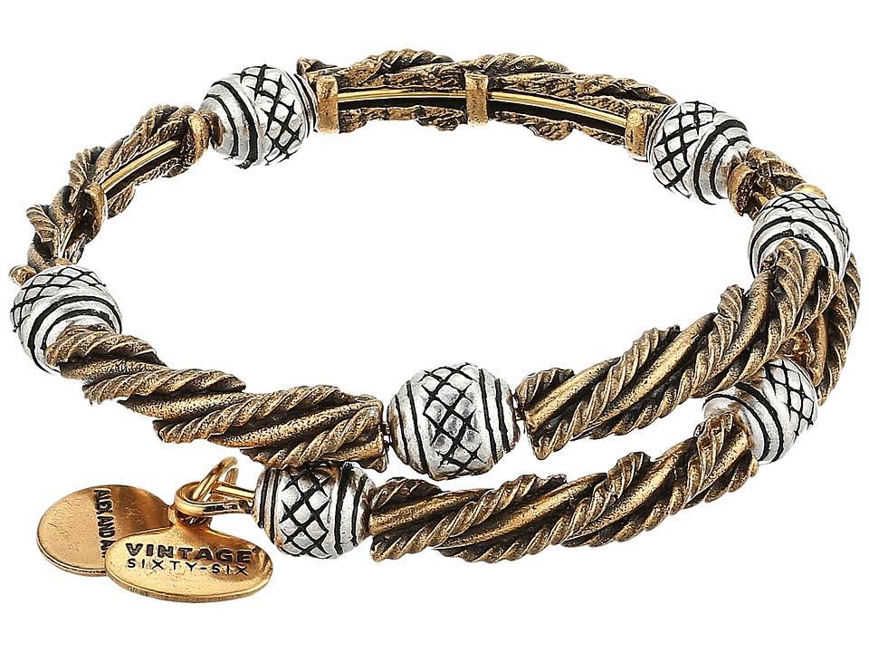 Alex and Ani - Relic Wrap Bracelet (Rafaelian Gold/Rafaelian Silver) Bracelet