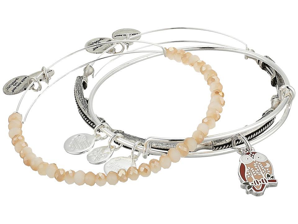 Alex and Ani - Owl Bracelet Set of 3