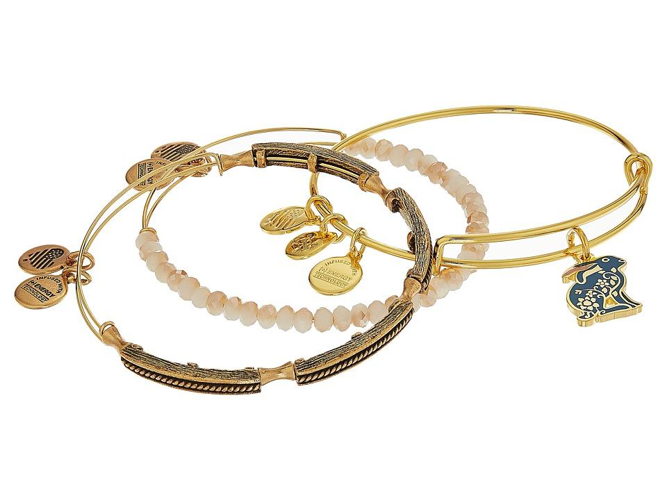 Alex and Ani - Rabbit Bracelet Set of 3