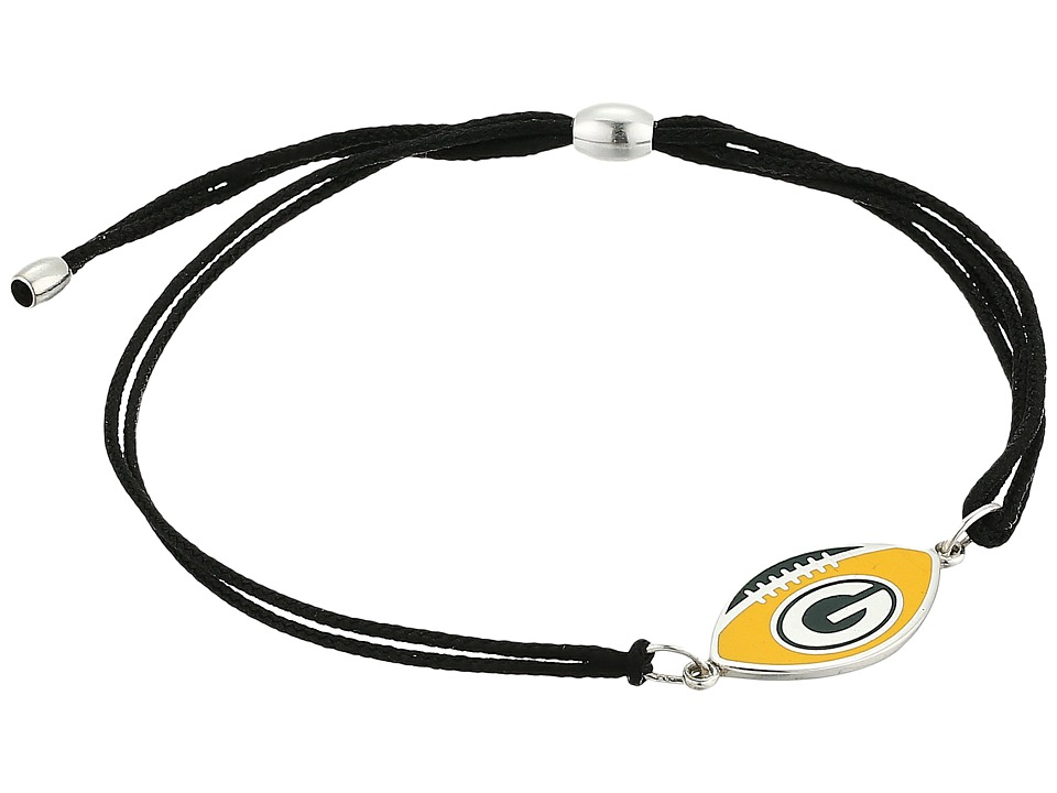 Alex and Ani - Kindred Cord Green Bay Packers Bracelet (Sterling Silver) Bracelet