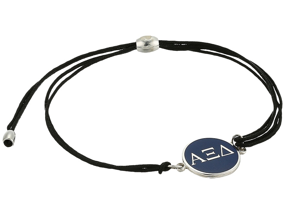 Alex and Ani - Kindred Cord Alpha Xi Delta Bracelet (Sterling Silver) Bracelet