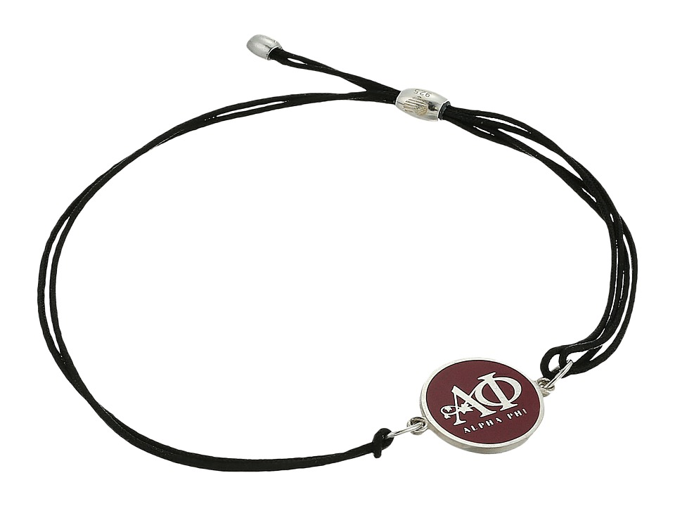 Alex and Ani - Kindred Cord Alpha Phi Bracelet (Sterling Silver) Bracelet