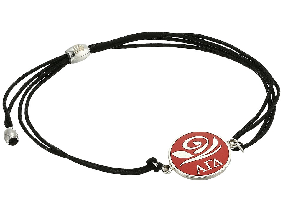 Alex and Ani - Kindred Cord Alpha Gamma Delta Bracelet (Sterling Silver) Bracelet