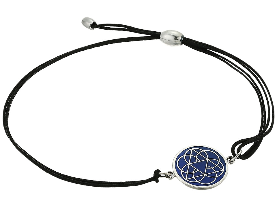 Alex and Ani - Kindred Cord Delta Delta Delta Bracelet (Sterling Silver) Bracelet
