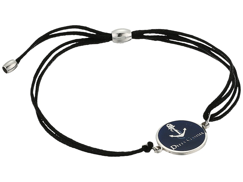 Alex and Ani - Kindred Cord Delta Gamma Bracelet (Sterling Silver) Bracelet