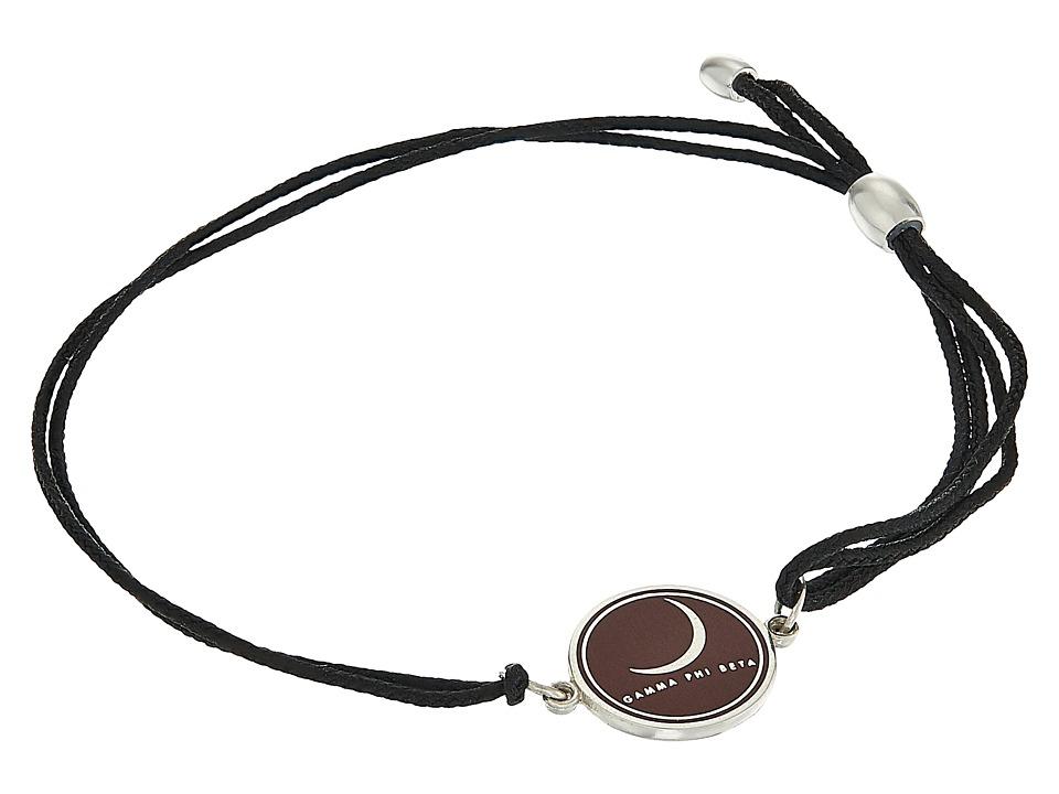 Alex and Ani - Kindred Cord Gamma Phi Beta Bracelet (Sterling Silver) Bracelet