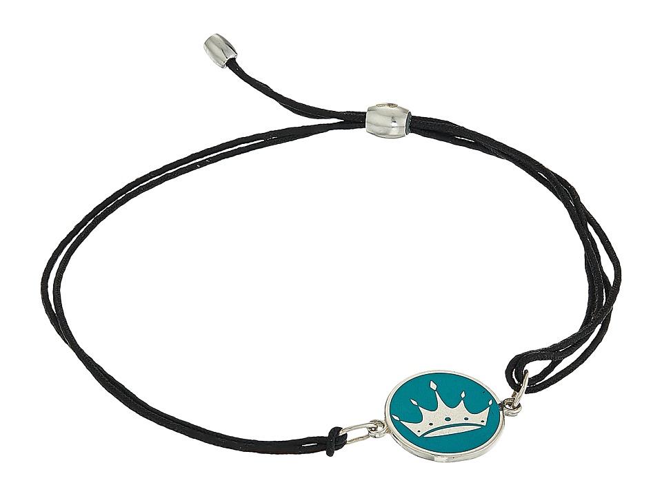 Alex and Ani - Kindred Cord Zeta Tau Alpha Bracelet (Sterling Silver) Bracelet