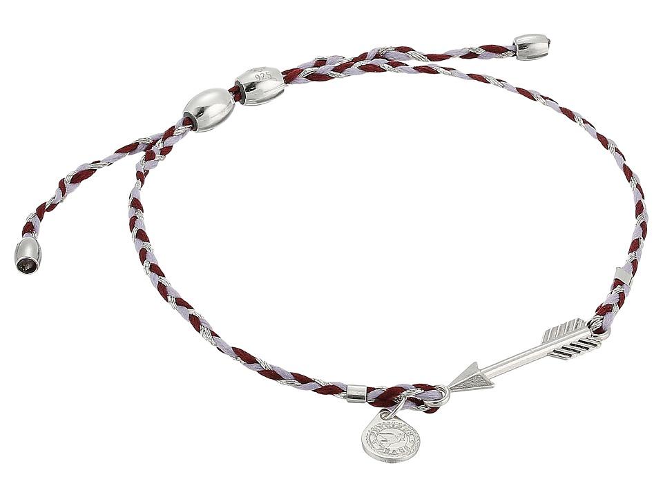 Alex and Ani - Precious Threads Arrow Thistle Braid Bracelet
