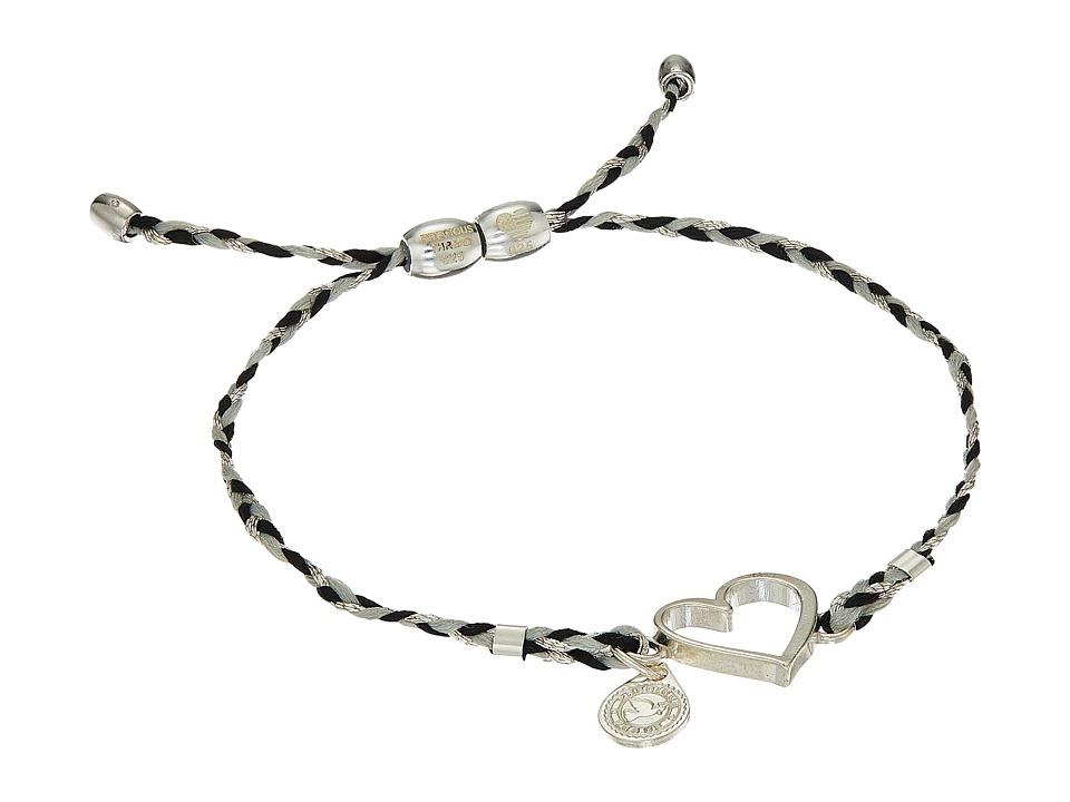 Alex and Ani - Precious Threads Heart Fog Braid Bracelet