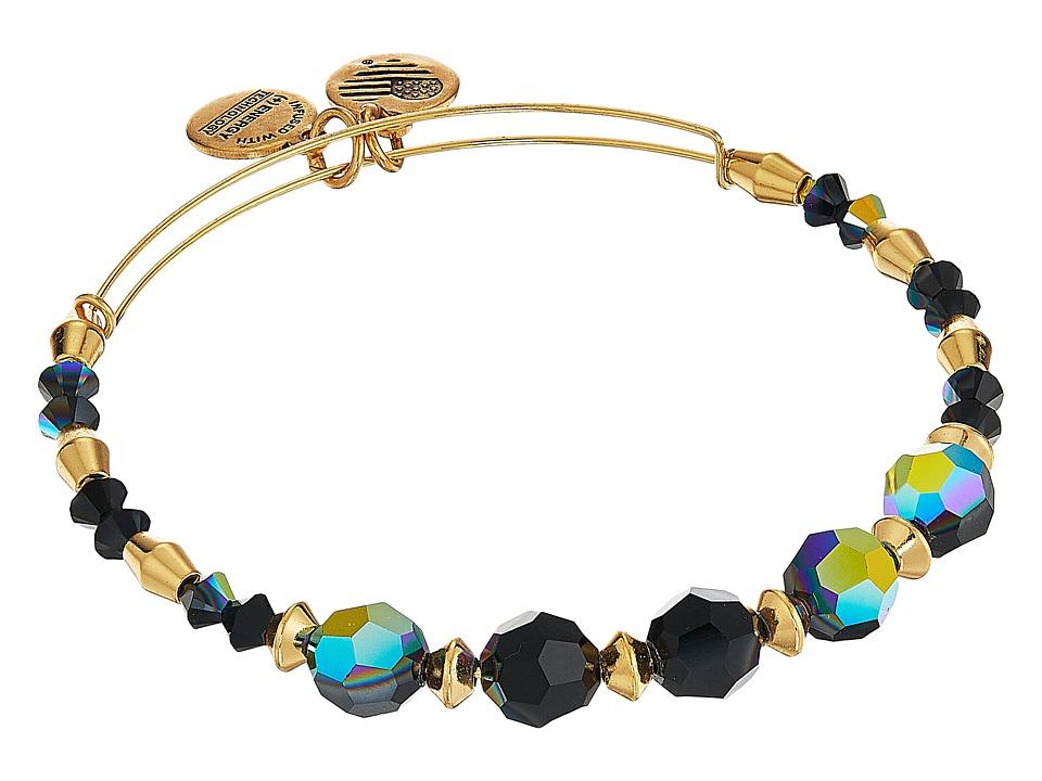 Alex and Ani - Swarovski Crystal Beaded Milkyway Bangle (Shiny Gold) Bracelet