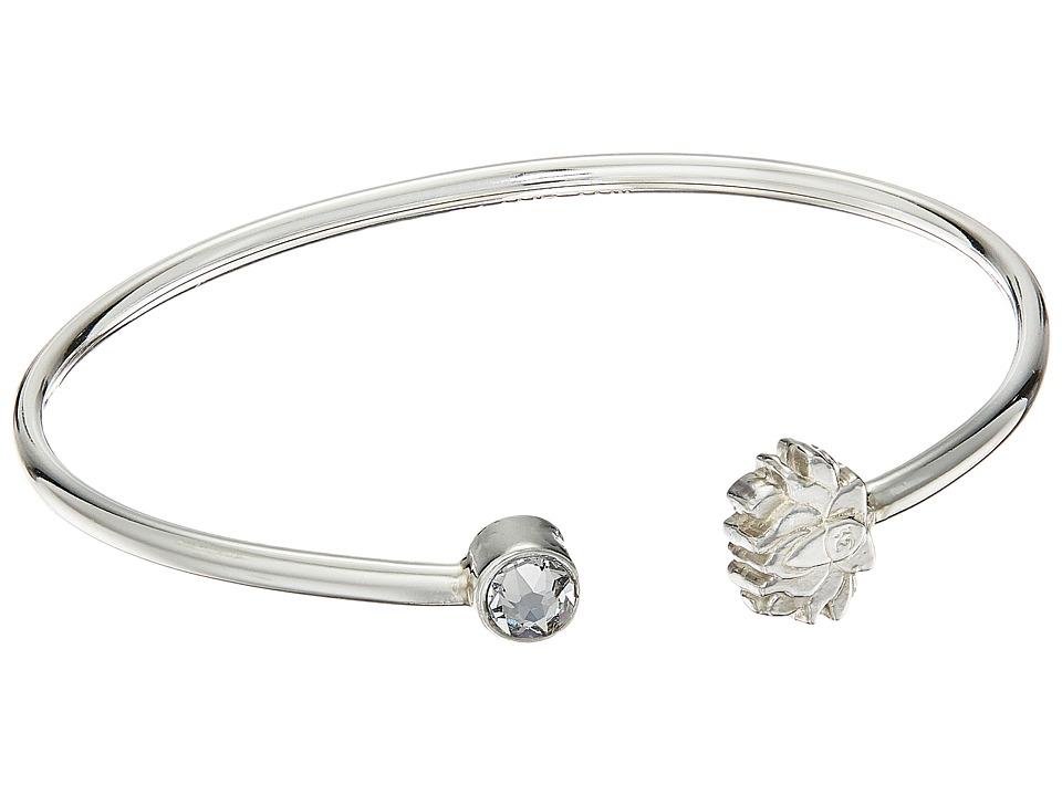 Alex and Ani - Lotus Peace Petal Cuff Bracelet (Sterling Silver) Bracelet
