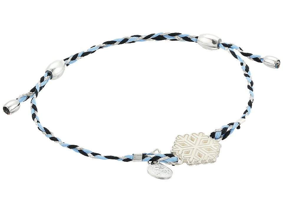 Alex and Ani - Precious Threads Snowflake Cornflower Braid Bracelet