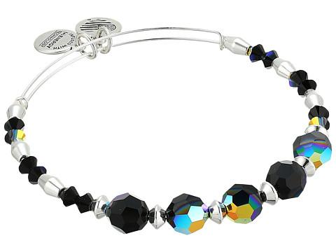 Alex and Ani Swarovski Crystal Beaded Milkyway Bangle - Shiny Silver