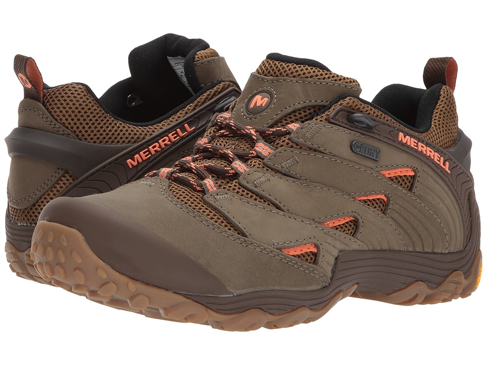 Merrell Chameleon 7 Waterproof (Dusty Olive) Women's Shoes