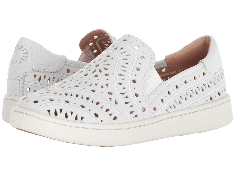 UGG Cas Perf (White) Slip-On Shoes
