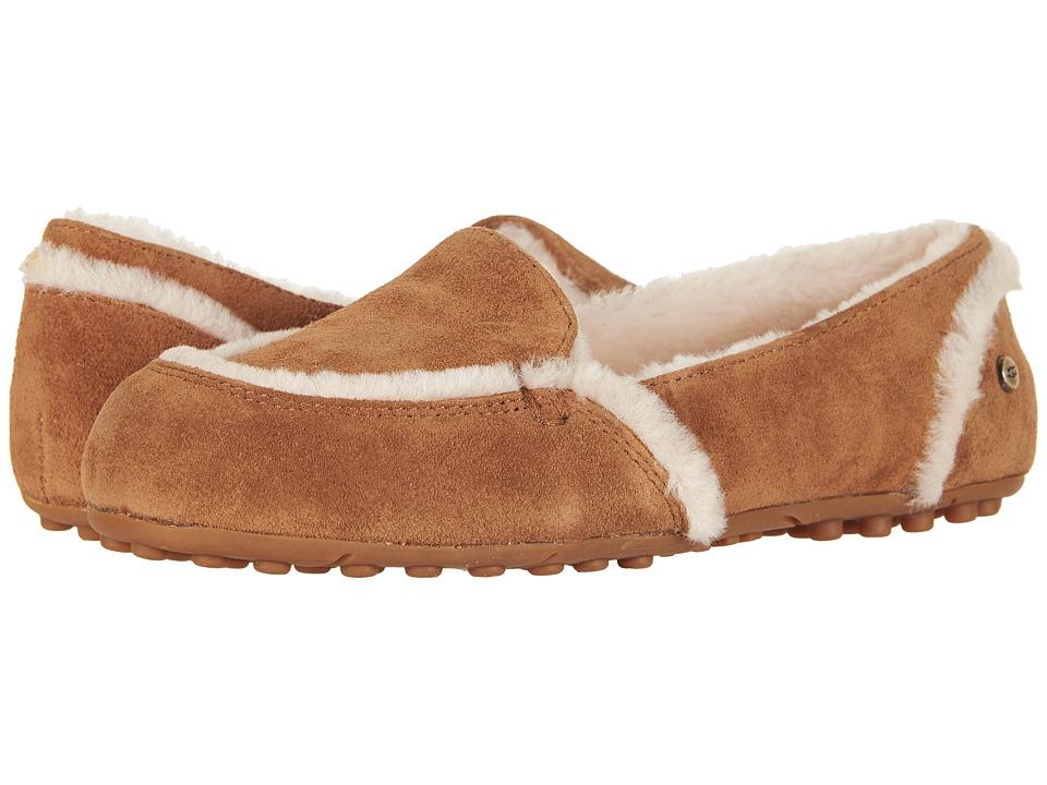 UGG Hailey (Chestnut) Slip-On Shoes