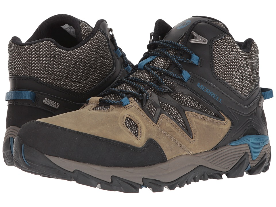 Merrell - All Out Blaze 2 Mid Waterproof (Stucco) Mens Shoes