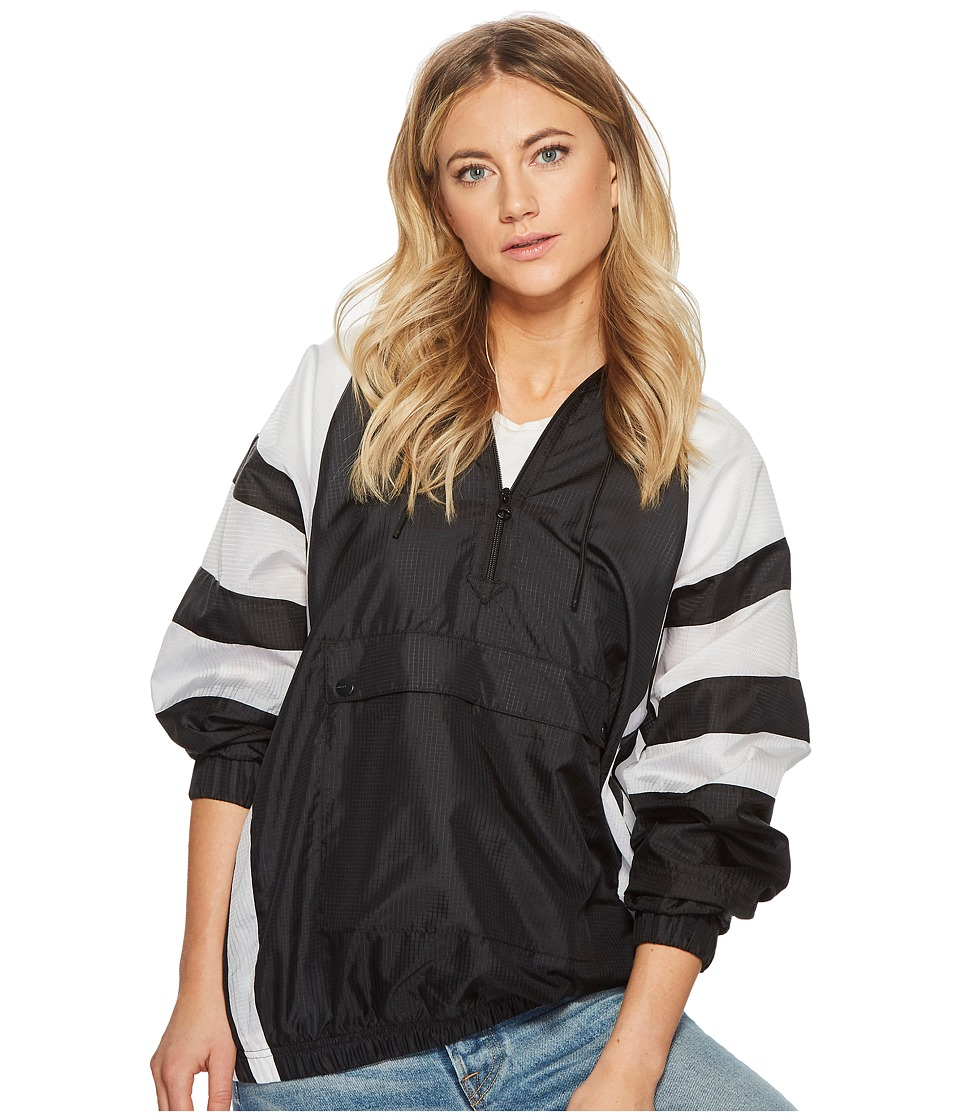 adidas Originals - EQT Windbreaker (Black) Womens Coat