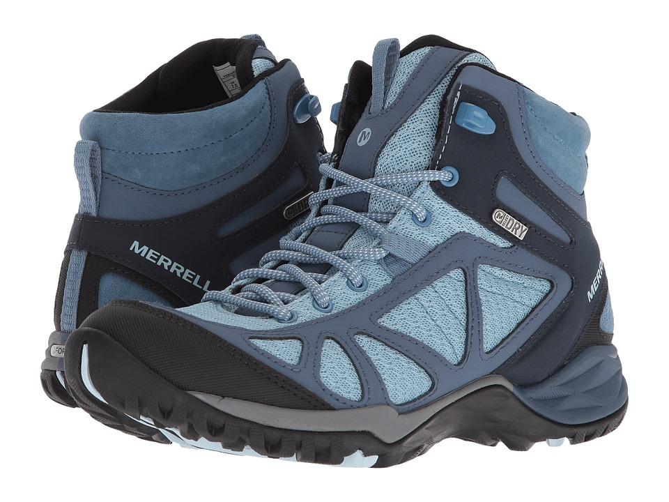 Merrell - Siren Sport Q2 Mid Waterproof (Blue) Womens Shoes