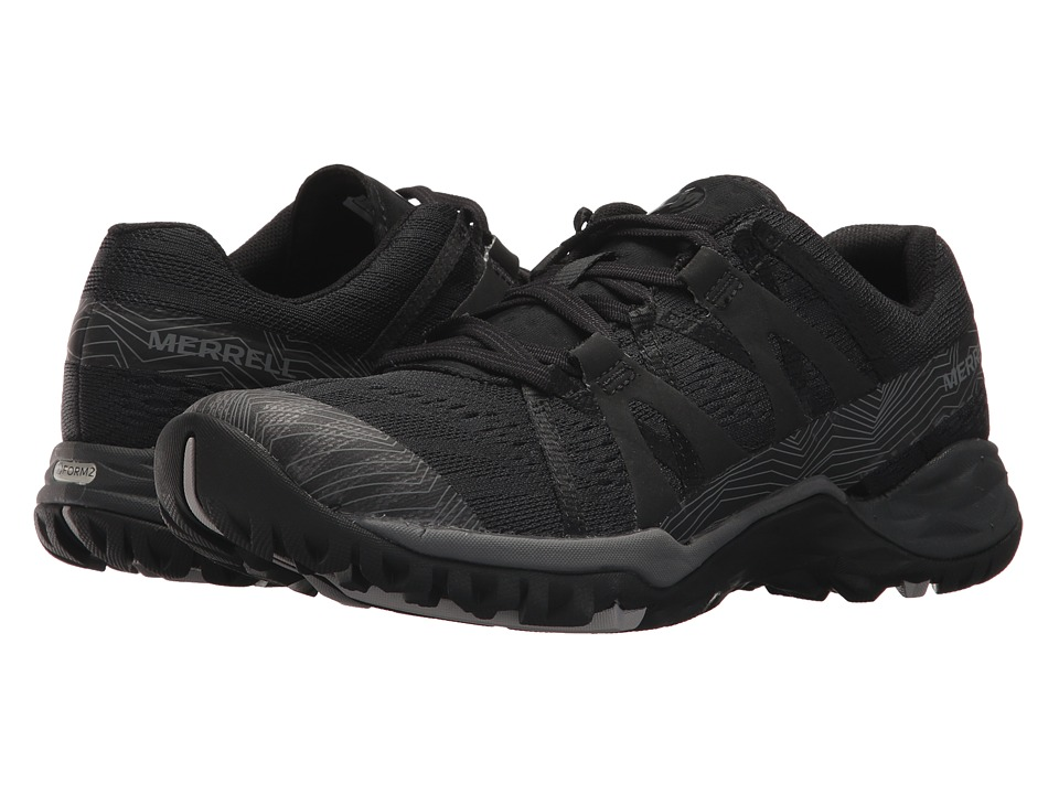 Merrell Siren Hex Q2 E-Mesh (Super Black) Women's Shoes