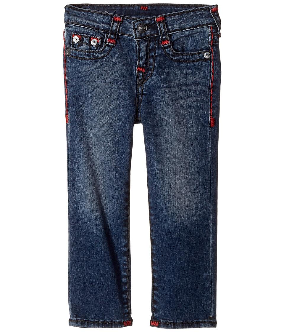 True Religion Kids Geno Slim Fit Super T Jeans in Soft Sound (Toddler/Little Kids) (Soft Sound) Boy