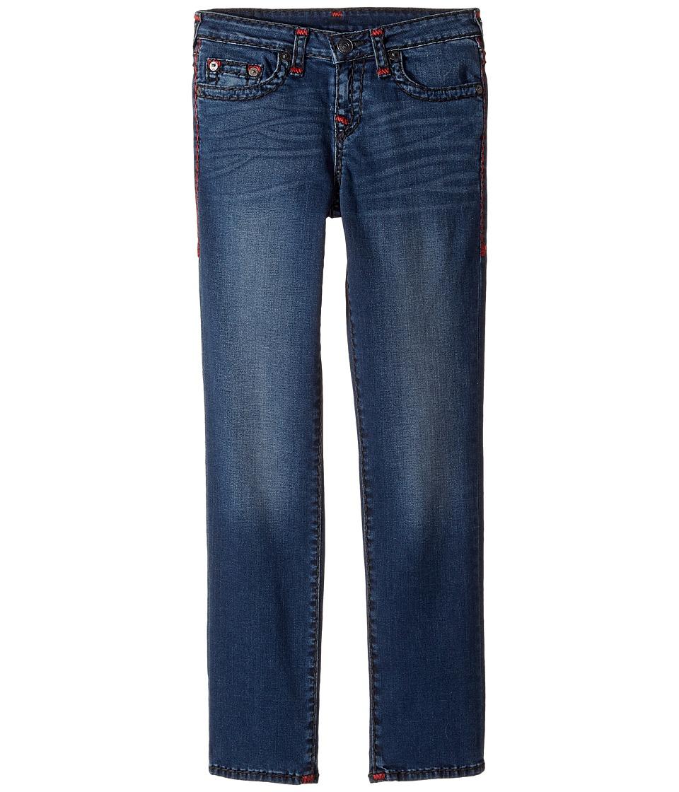 True Religion Kids Geno Slim Fit Super T Jeans in Soft Sound (Big Kids) (Soft Sound) Boy
