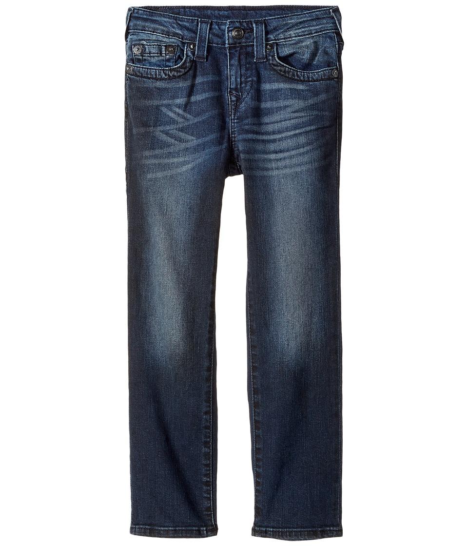 True Religion Kids Geno Slim Fit Jeans in Blue Asphalt (Toddler/Little Kids) (Blue Asphalt) Boy