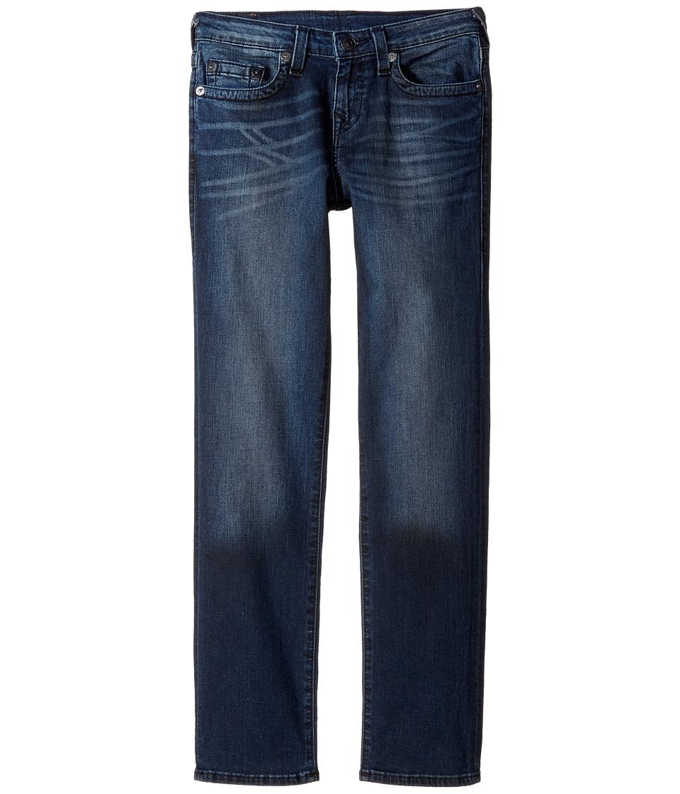 True Religion Kids Geno Slim Fit Jeans in Blue Asphalt (Big Kids) (Blue Asphalt) Boy
