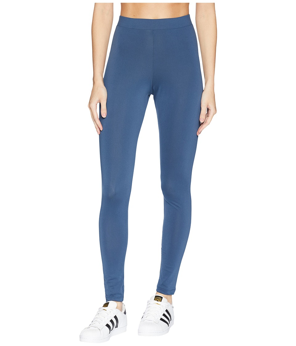 adidas Originals Trefoil Tights (Mineral Blue) Women