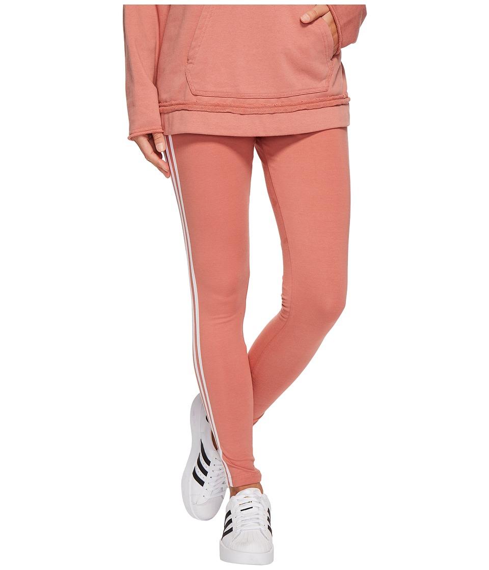 adidas Originals 3 Stripes Tights (Ash Pink) Women