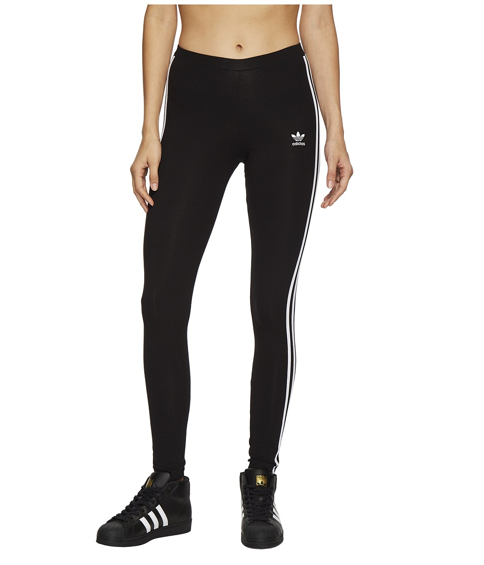 adidas Originals 3 Stripes Tights (Black) Women