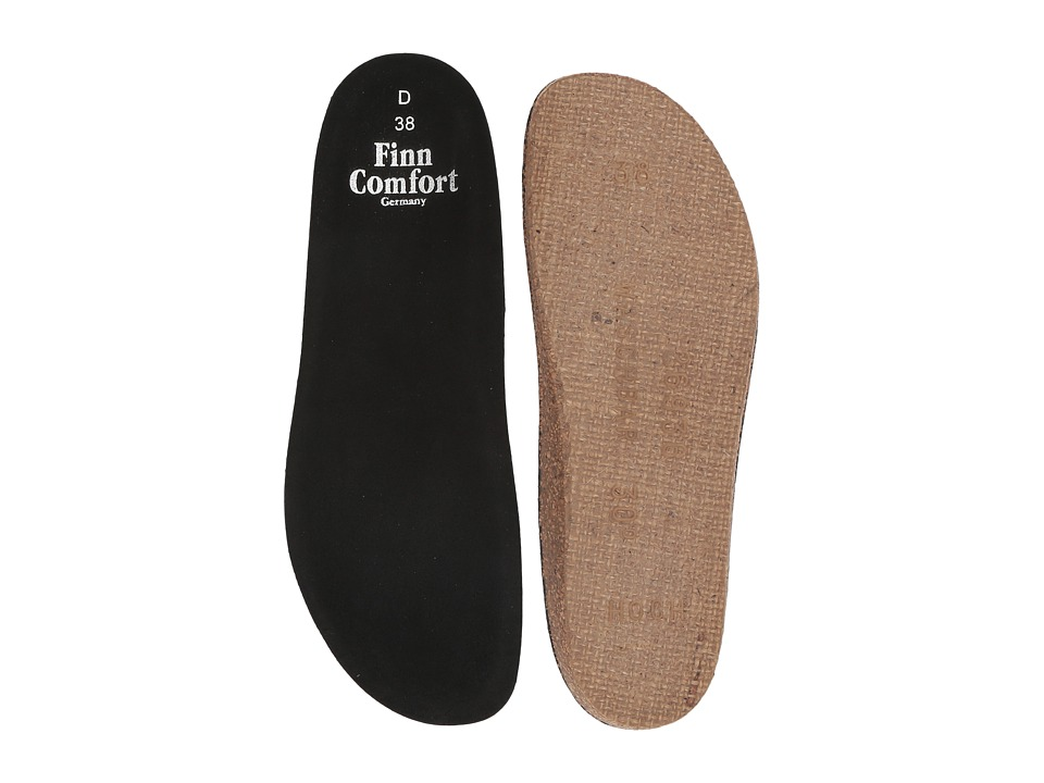 Finn Comfort Soft Wedge Insole (Black) Women's Insoles Accessories Shoes