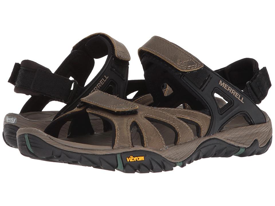 Merrell - All Out Blaze Sieve Convert (Stucco) Mens Shoes