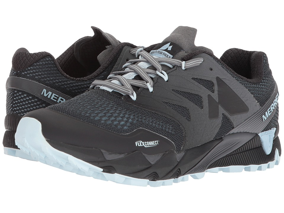 Merrell Agility Peak Flex 2 E-Mesh (Black) Women's Shoes