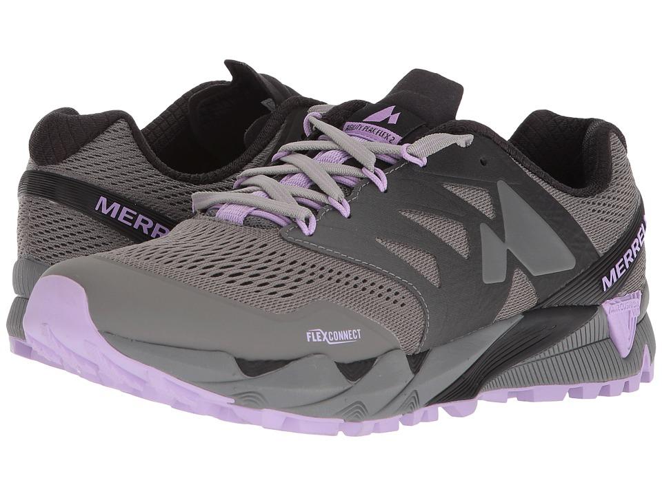 MerrellAgility Peak Flex 2 E-Mesh  (Charcoal) Womens Shoes