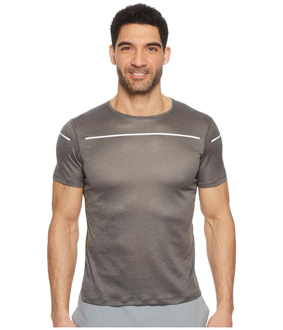 ASICS Lite-Show Short Sleeve Top (Dark Grey) Men