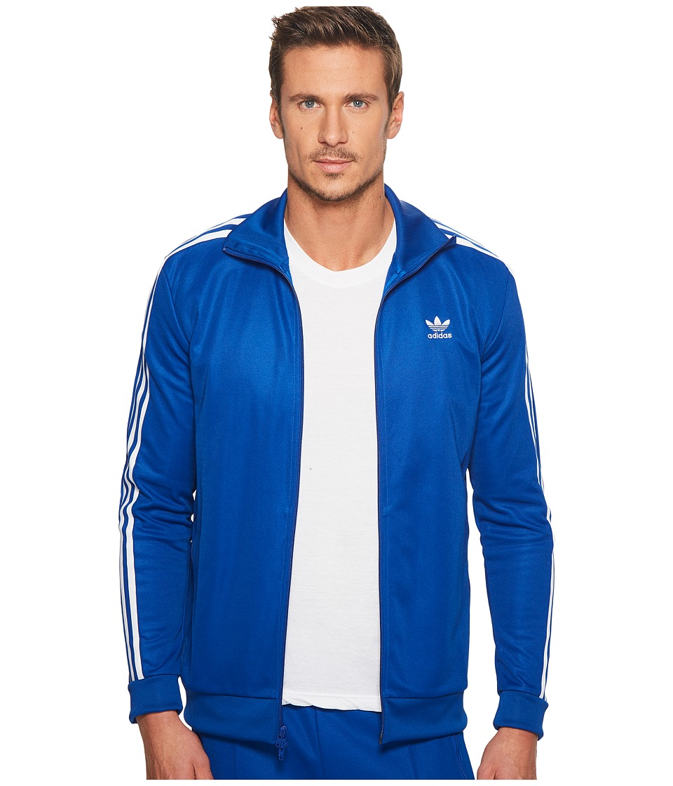 Adidas Originals - Franz Beckenbauer Track Top (Collegiate Royal) Men's Long Sleeve Pullover