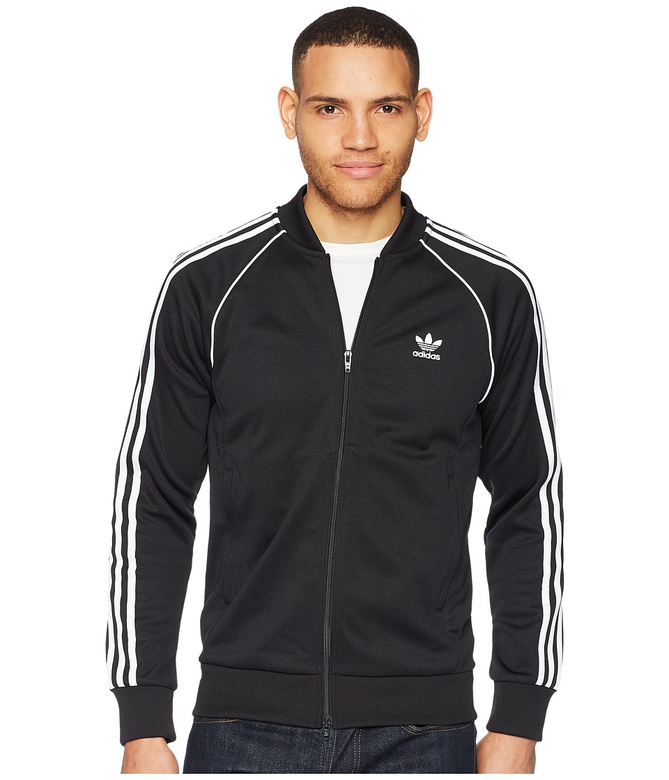 adidas Originals - SST Track Top (Black) Mens Sweatshirt