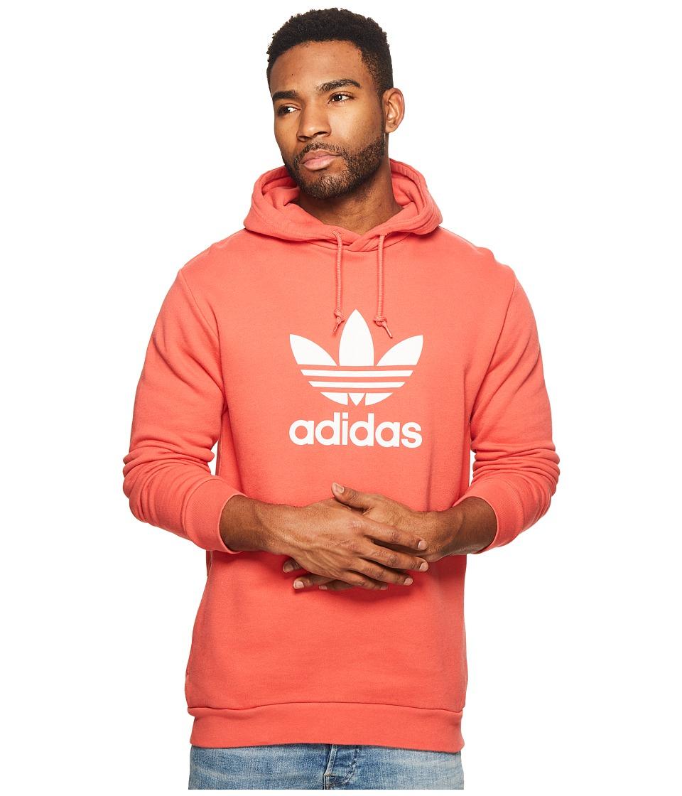 adidas Originals - Trefoil Hoodie (Trace Scarlet) Mens Sweatshirt