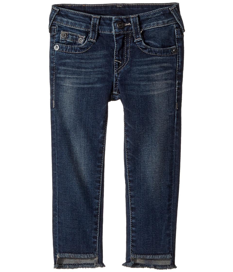 True Religion Kids Casey Skinny Jeans in Dark Moon (Toddler/Little Kids) (Dark Moon) Girl