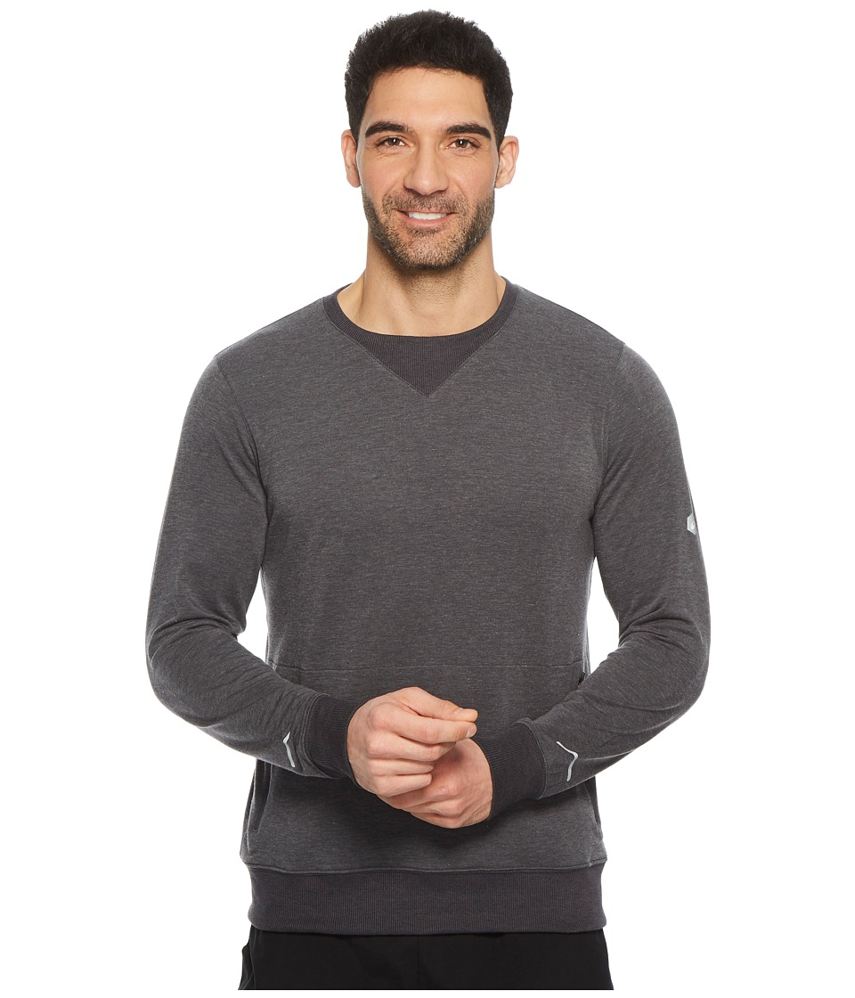 ASICS Legends Crew Top (Dark Grey Heather) Men
