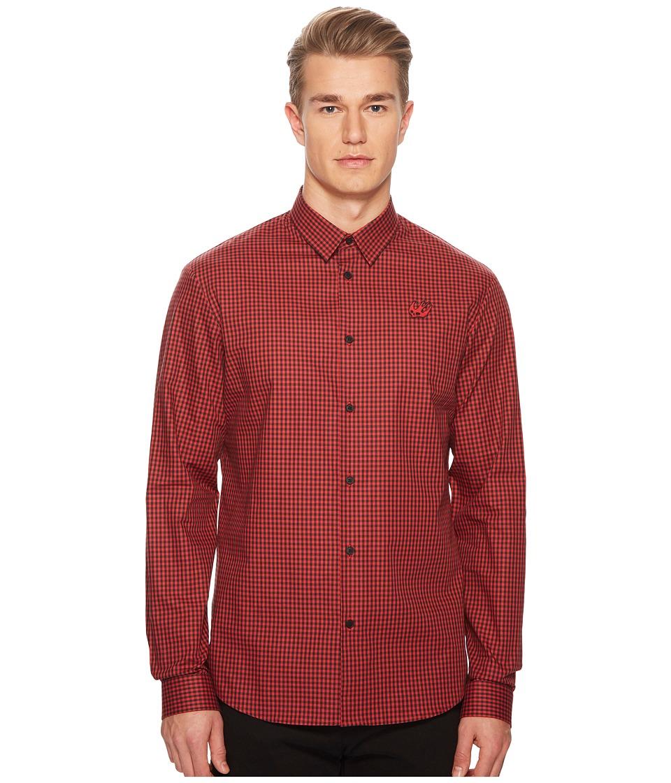 McQ - Sheehan Shirt (Red/Black) Mens Clothing