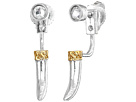 Alex and Ani Horn Earrings