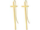 Alex and Ani Cross Earrings