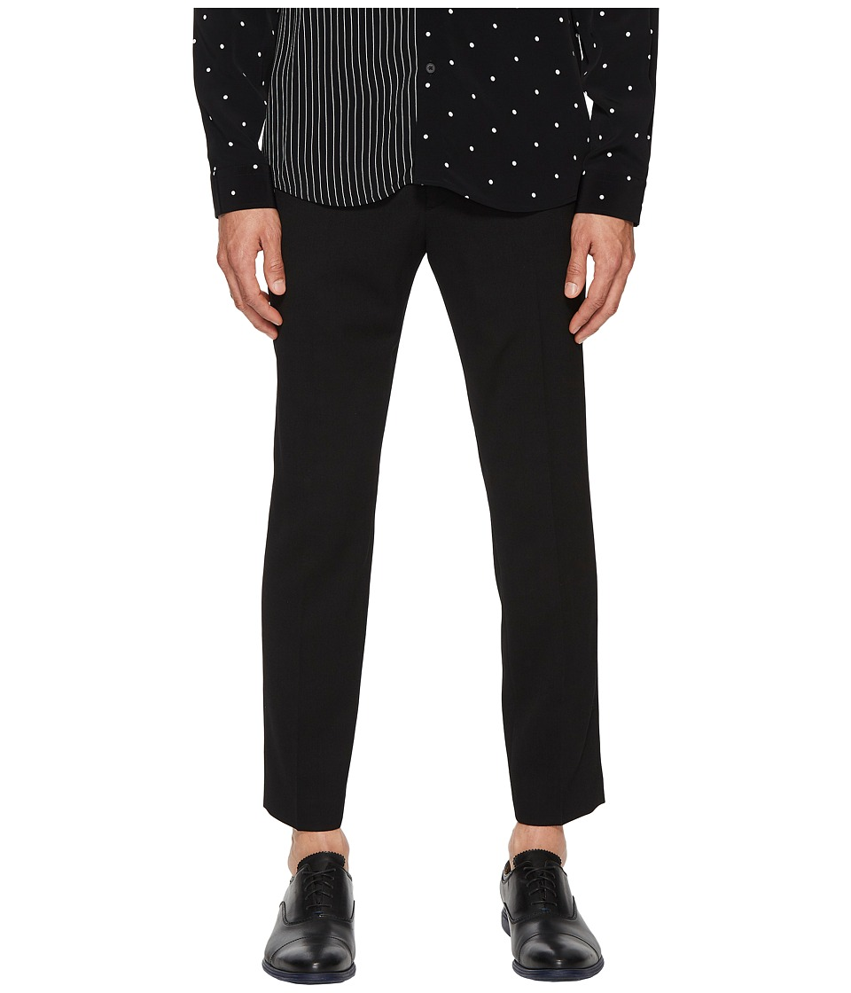 McQ - Peg Leg Trousers (Darkest Black) Mens Casual Pants